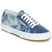 Sko Lave sneakers Superga 2750 TIE DYE DENIM Blå