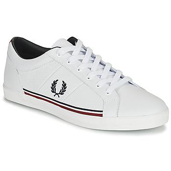 Sko Herre Lave sneakers Fred Perry B722 Hvid