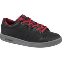 Sko Dame Lave sneakers K-Swiss Kswiss Hoke Plaid Sort