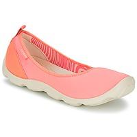 Sko Dame Ballerinaer Crocs DUET BUSY DAY FLAT Orange