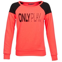 textil Dame Sweatshirts Only Play MAKAYLA TOP KORAL
