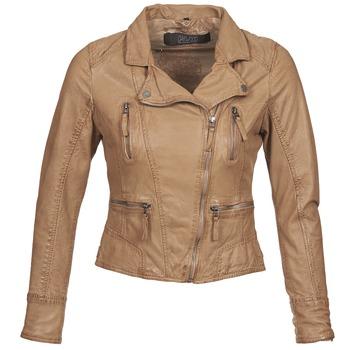 textil Dame Jakker i læder / imiteret læder Oakwood CAMERA Cognac