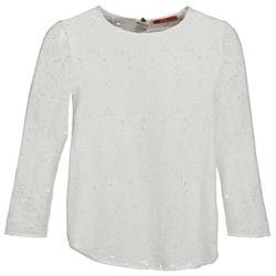 textil Dame Langærmede T-shirts Esprit VASTAN Hvid