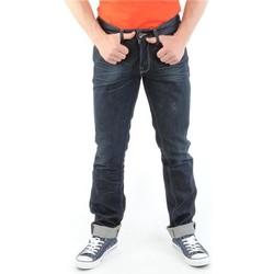 textil Herre Smalle jeans Guess Brit Rocker M14072D0HN0 CODU navy