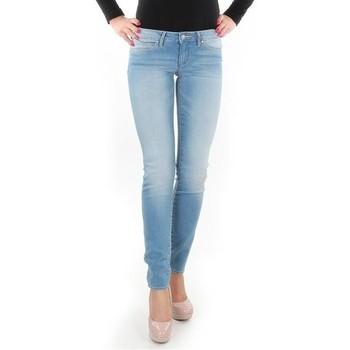 textil Dame Jeans - skinny Wrangler Caitlin Blue Baloo W24CH145X blue
