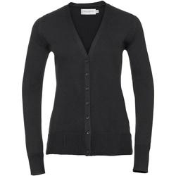 textil Dame Veste / Cardigans Russell 715F Black
