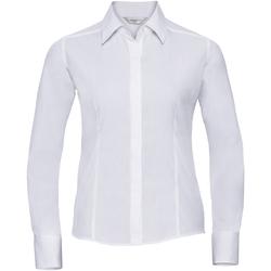 textil Dame Skjorter / Skjortebluser Russell 924F White