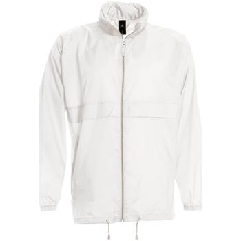 textil Herre Vindjakker B And C JU800 White
