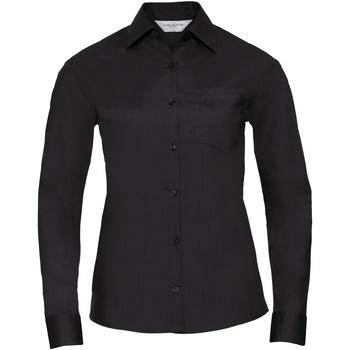 textil Dame Skjorter / Skjortebluser Russell 934F Black