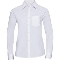 textil Dame Skjorter / Skjortebluser Russell 934F White
