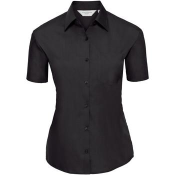 textil Dame Skjorter / Skjortebluser Russell 935F Black
