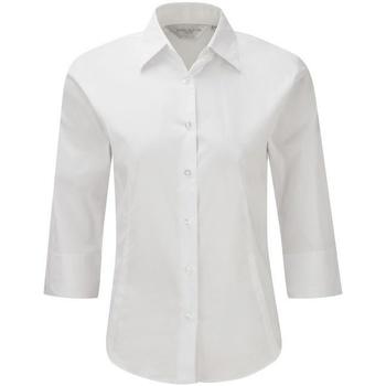 textil Dame Skjorter / Skjortebluser Russell 946F White