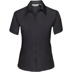 textil Dame Skjorter / Skjortebluser Russell 957F Black