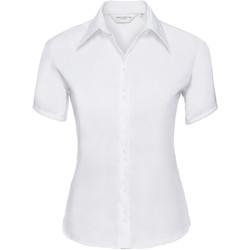 textil Dame Skjorter / Skjortebluser Russell 957F White