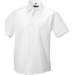 textil Herre Skjorter m. korte ærmer Russell 959M White