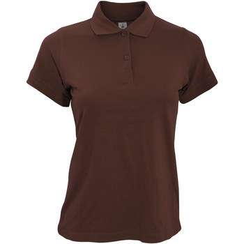textil Dame Polo-t-shirts m. korte ærmer B And C PW455 Brown