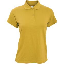 textil Dame Polo-t-shirts m. korte ærmer B And C PW455 Gold