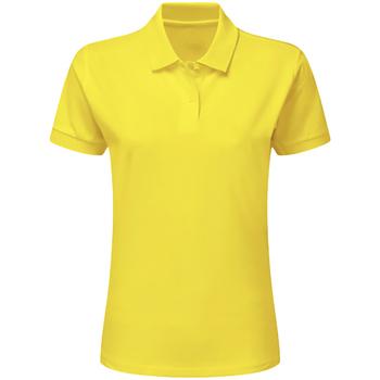textil Dreng Polo-t-shirts m. korte ærmer Sg SG59K Yellow