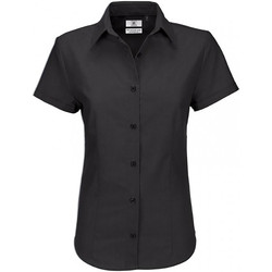 textil Dame Skjorter / Skjortebluser B And C SWO04 Black