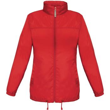 textil Dame Vindjakker B And C JW902 Red