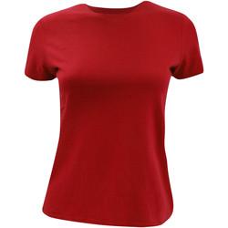 textil Dame T-shirts m. korte ærmer B And C TW012 Red