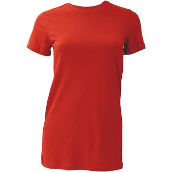 textil Dame T-shirts m. korte ærmer Bella + Canvas BE6004 Red