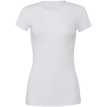 textil Dame T-shirts m. korte ærmer Bella + Canvas BE6004 White