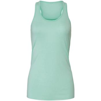 textil Dame Toppe / T-shirts uden ærmer Bella + Canvas BE8800 Mint