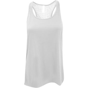 textil Dame Toppe / T-shirts uden ærmer Bella + Canvas BE8800 White