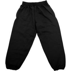 textil Børn Træningsbukser Jerzees Schoolgear 750B Black