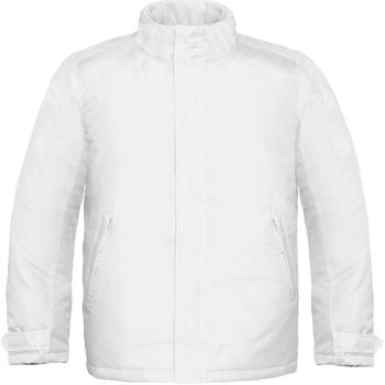 textil Herre Vindjakker B And C Real+ White