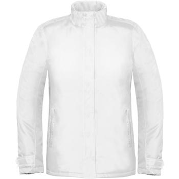 textil Dame Vindjakker B And C Real+ White