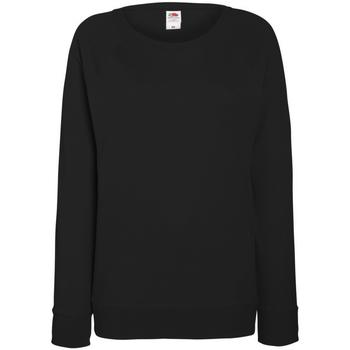 textil Dame Sweatshirts Fruit Of The Loom 62146 Black