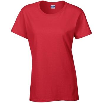 textil Dame T-shirts m. korte ærmer Gildan Missy Fit Red