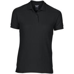 textil Dame Polo-t-shirts m. korte ærmer Gildan 75800L Black