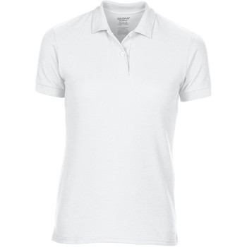textil Dame Polo-t-shirts m. korte ærmer Gildan 75800L White