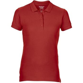 textil Dame Polo-t-shirts m. korte ærmer Gildan 85800L Red