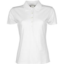 textil Dame Polo-t-shirts m. korte ærmer Tee Jays TJ145 White