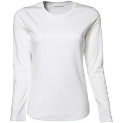 textil Dame Langærmede T-shirts Tee Jays TJ590 White