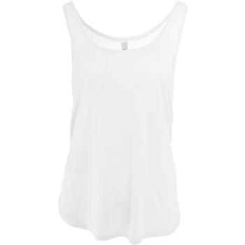 textil Dame Toppe / T-shirts uden ærmer Bella + Canvas BE8802 White