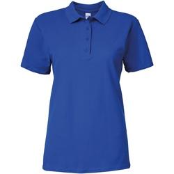 textil Dame Polo-t-shirts m. korte ærmer Gildan 64800L Royal