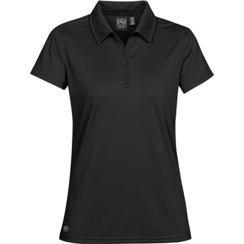 textil Dame Polo-t-shirts m. korte ærmer Stormtech PG-1W Black
