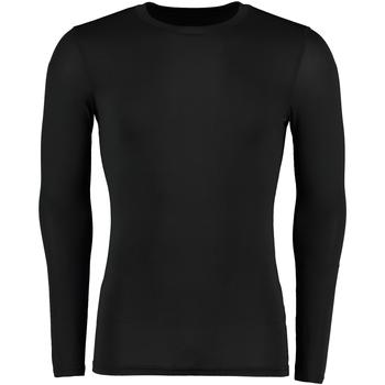 textil Herre Langærmede T-shirts Gamegear Warmtex Black