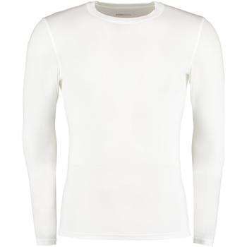 textil Herre Langærmede T-shirts Gamegear Warmtex White
