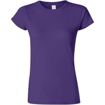 textil Dame T-shirts m. korte ærmer Gildan Soft Purple