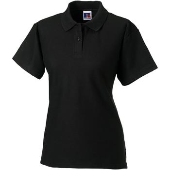 textil Dame Polo-t-shirts m. korte ærmer Jerzees Colours 539F Black