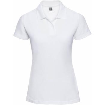 textil Dame Polo-t-shirts m. korte ærmer Jerzees Colours 539F White