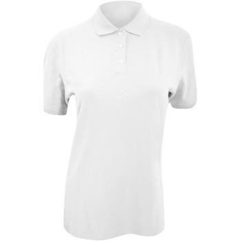 textil Dame Polo-t-shirts m. korte ærmer Kustom Kit KK705 White