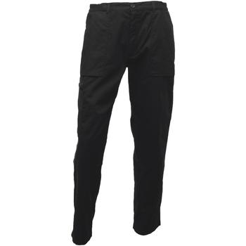 textil Herre Cargo bukser Regatta TRJ330L Black