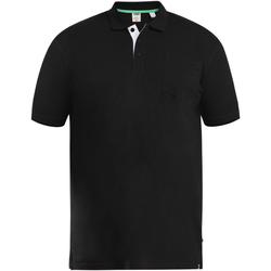 textil Herre Polo-t-shirts m. korte ærmer Duke  Black